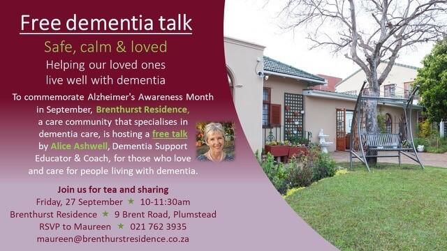 Free Dementia Talk